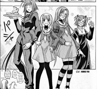Negima Volume 0 Hayate no Gotoku Cosplay